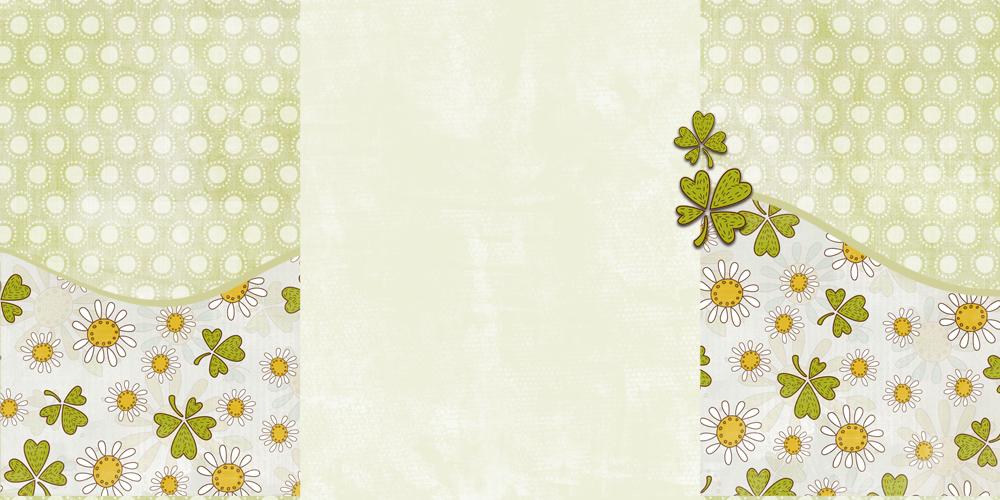 Background Clovers fresco