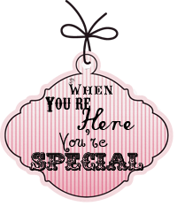 When You're Here You're Special Button
