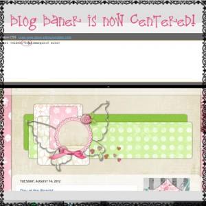 how to center blog banner header on blogger 5