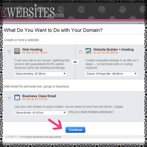 remove blogspot from site domain