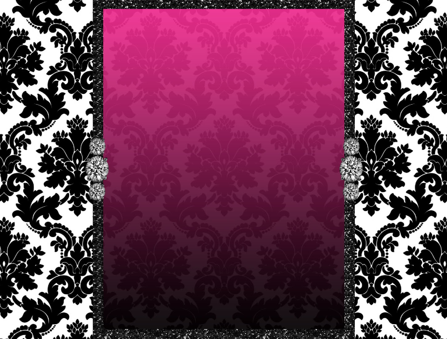 Pink Damask Background Diamond Blog Backgrounds The Cutest On Block