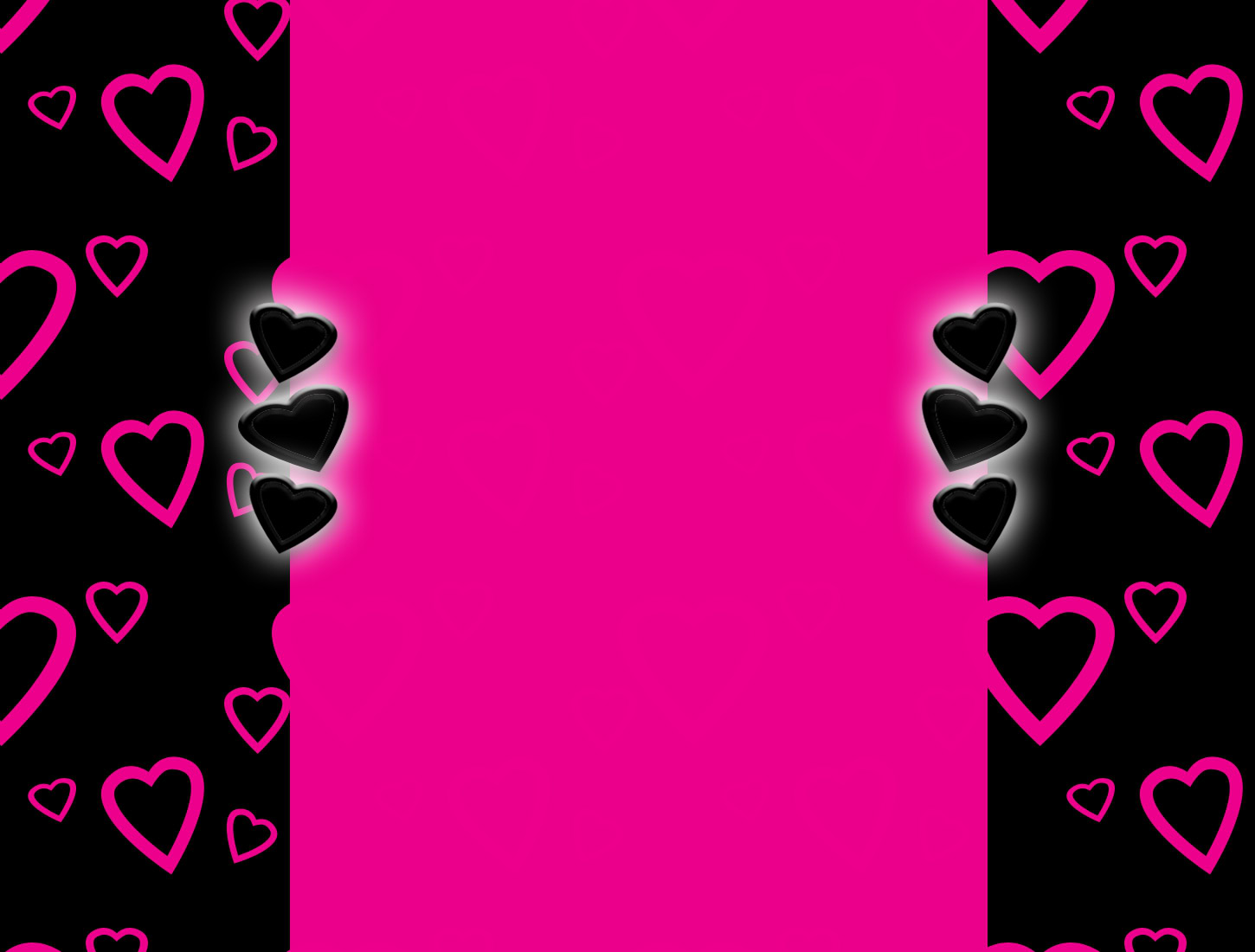 Zebra Heart Backgrounds