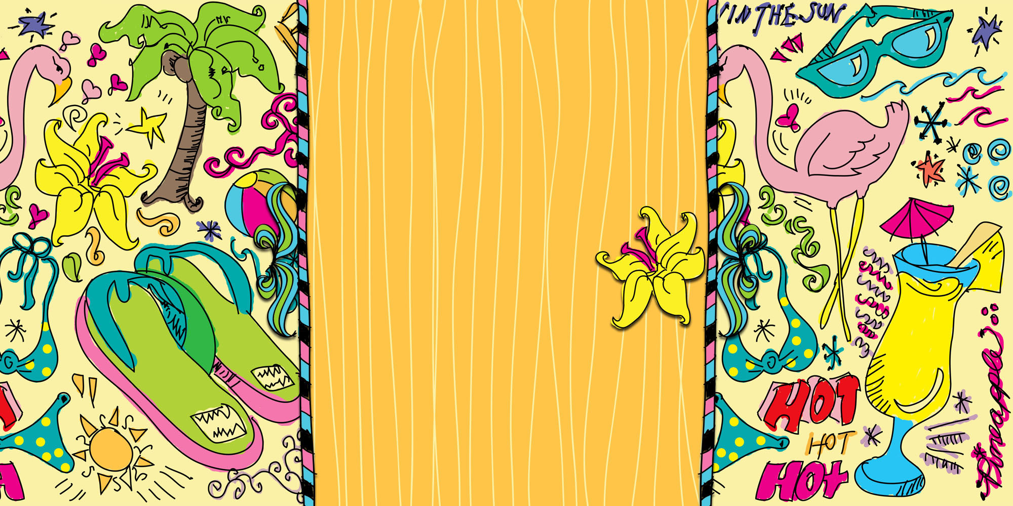 Twitter Backgrounds Doodle