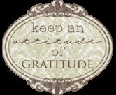 attitude of gratitude button