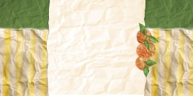 crinkled oranges 3 column