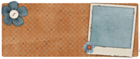 denim flowers free cute blog banner