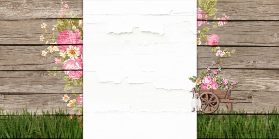 easter glade free blog background layout copy