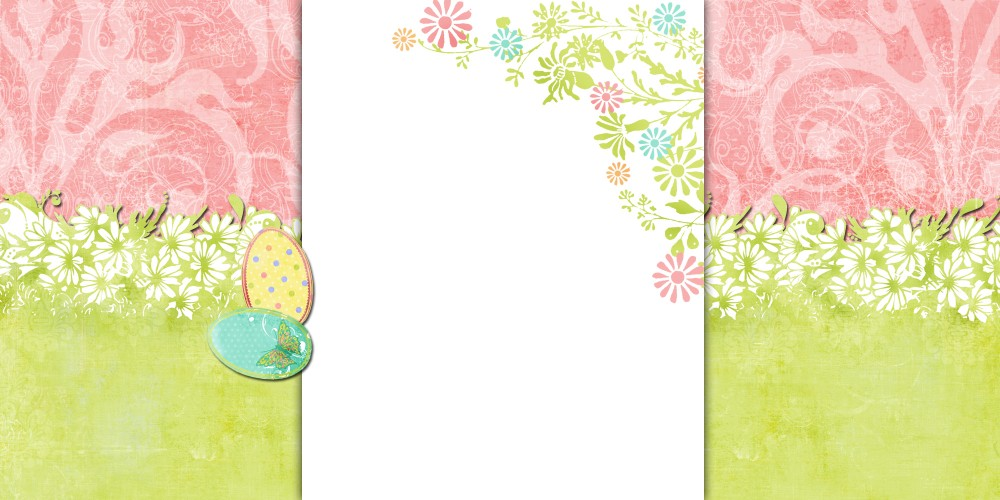 easter meadow free blog background