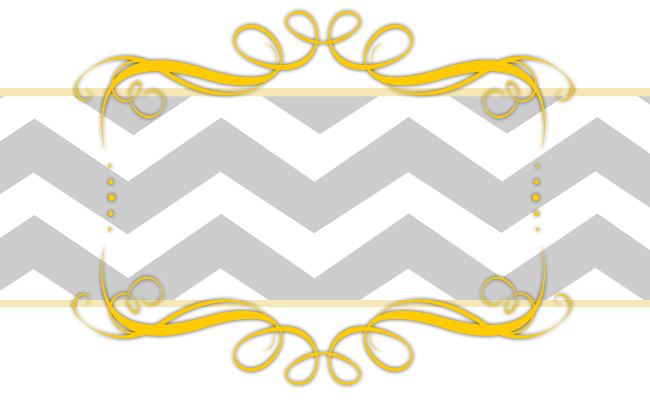 gams free modern vintage chic blogger banner chevron copy