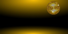 gold disco new year