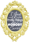 i just want to make pretty things blog button free blogger vintage copy