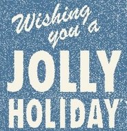 jolly holiday button