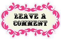 leave a comment pink button