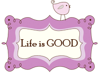 life is good button copy