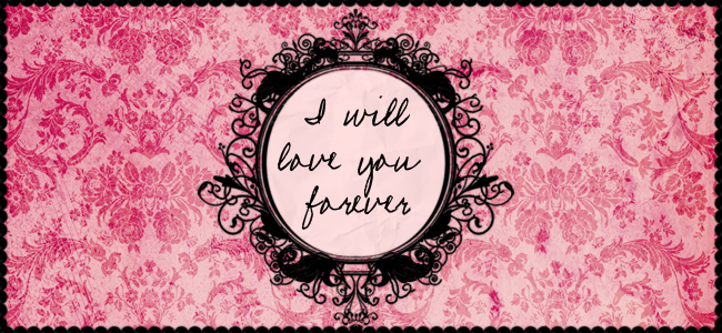 love you forever banner the cutest blog on the block