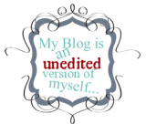 my blog is an unedited version of myself free blog blogger button chic copy