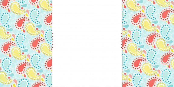 paisley summer free cute blog background