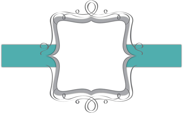 teal and white | banner | the cutest blog on the block, Powerpoint templates