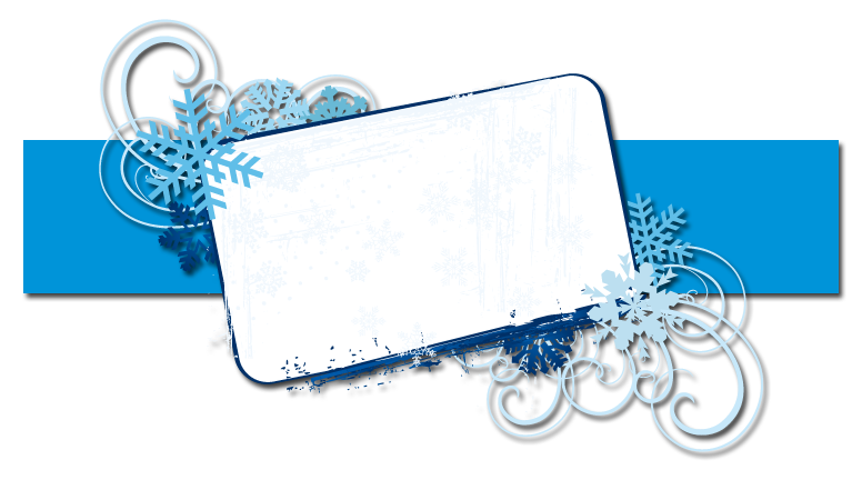 blast you frost BANNER free christmas snowflake blog background layout ...