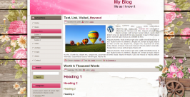 easter glade screenshot free wordpress theme