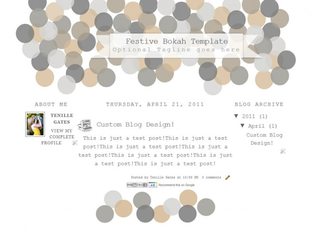 Blogger Templates | The Cutest Blog On The Block - Page 2