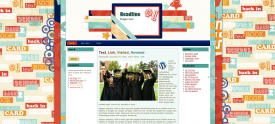 high school hangout free cute wordpress theme