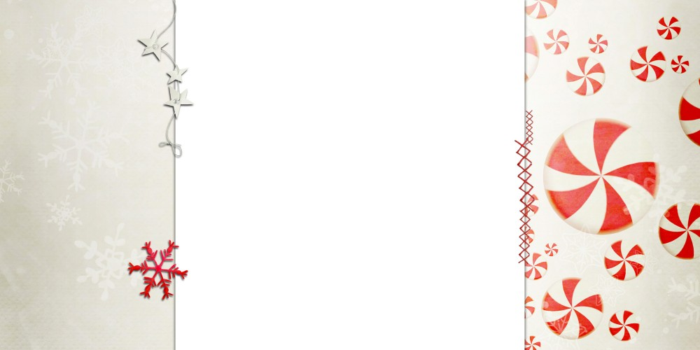 Merry Mint 3c Free Christmas Holiday Blog Background Layout Template  Christmas Template Free