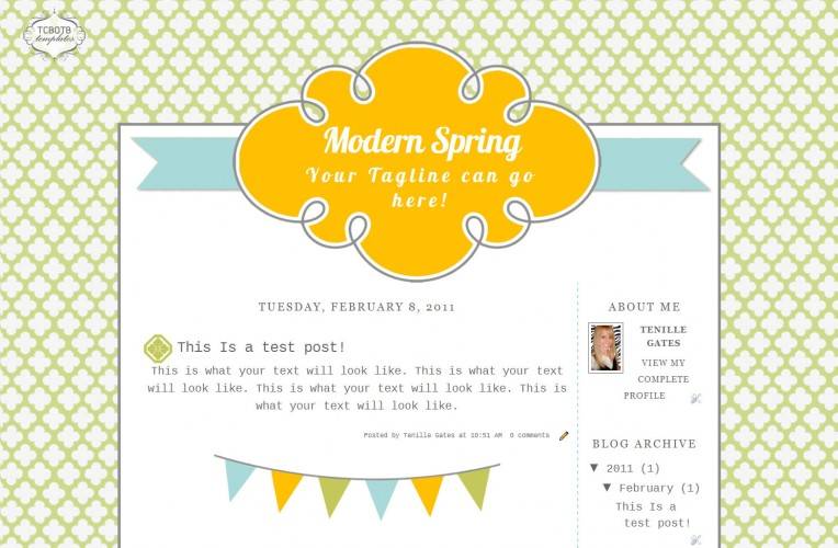 Blogger Templates | The Cutest Blog On The Block