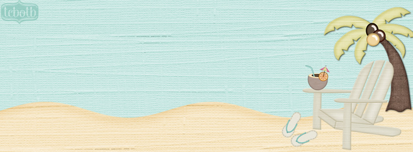 Chillin At The Beach Free Cute Summer Facebook Timeline Cover