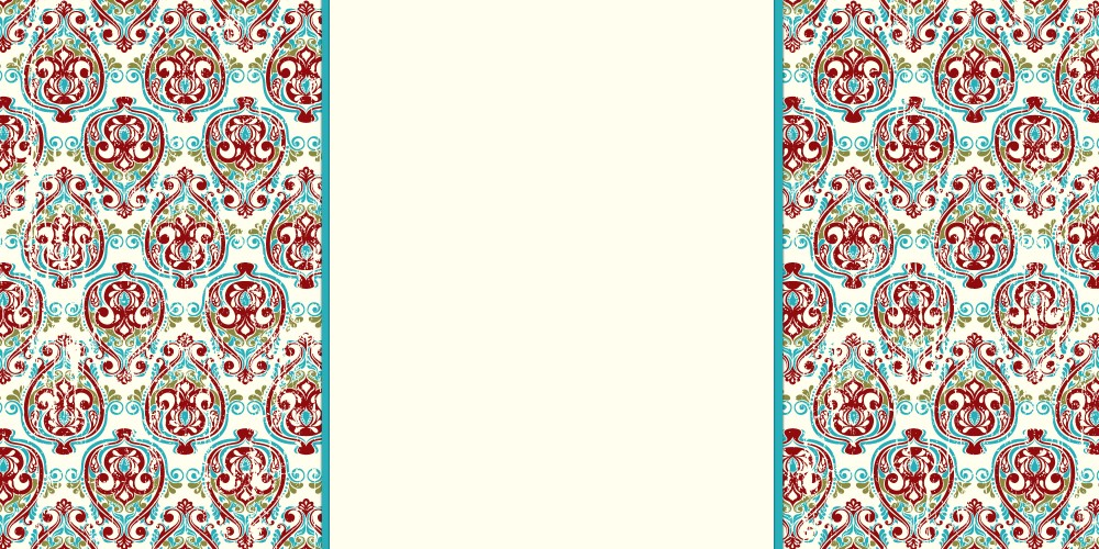 Christmas Banner | Damask Banner | The Cutest Blog On The Block