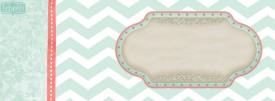 mint chevron cute free summer facebook timeline covers