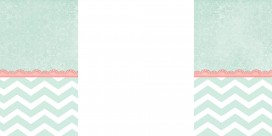 mint chevron free cute summer blog background
