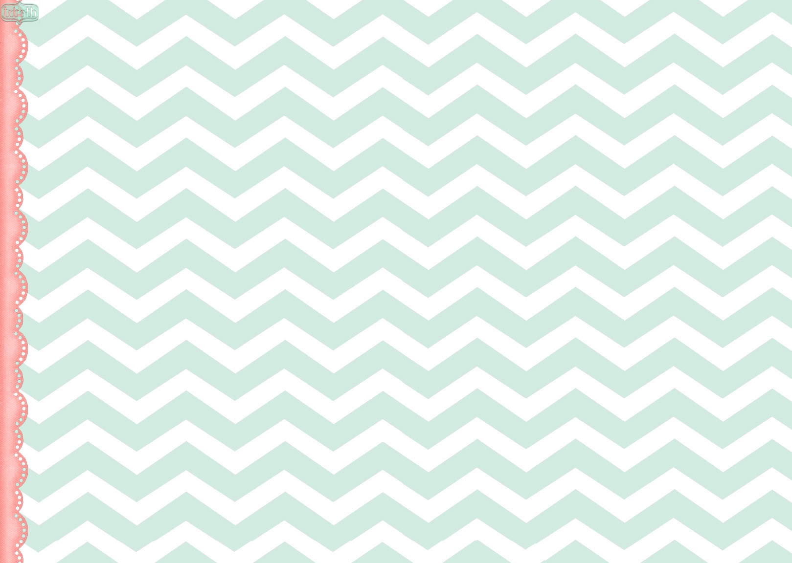 Mint Chevron The Cutest Blog On The Block