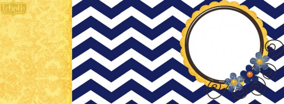 navy chevron cute free summer facebook timeline covers