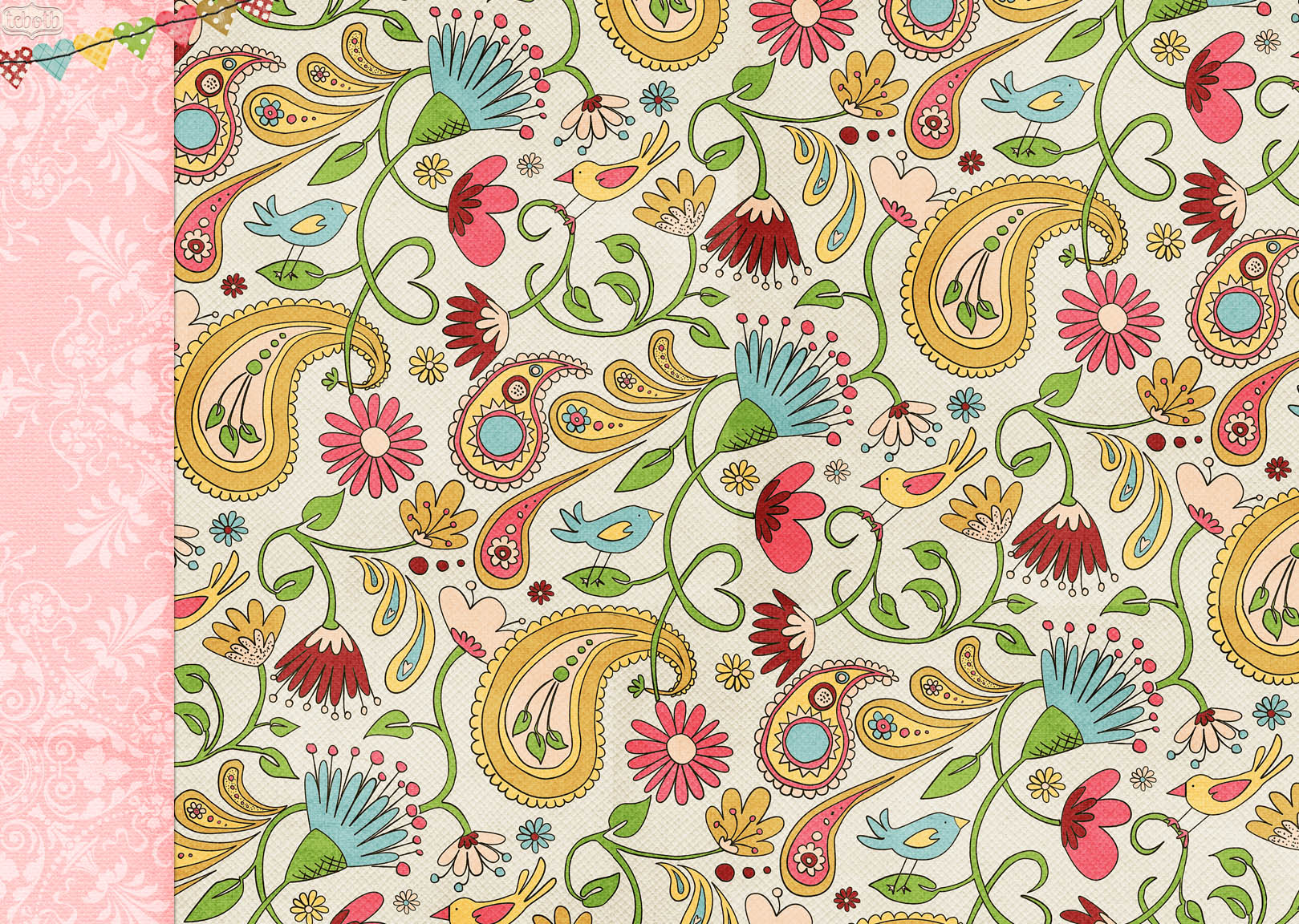 Latest Shabby Chic Blog Background Paisley The Cutest Nice Wallpaper