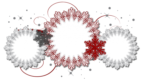 snow el free christmas blog background layout template snowflakes banner