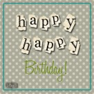 happy happy birthday facebook polka goodie free