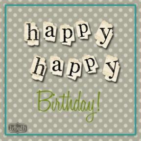 happy happy birthday facebook polka goodie free