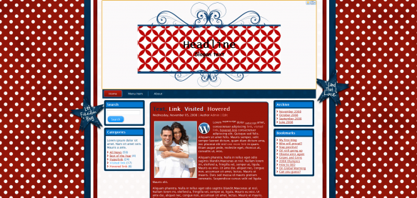 land that i love patriot free wordpress template