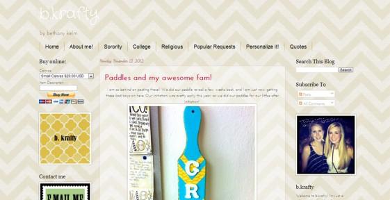 rate my blog the cutest blog on the block b krafty