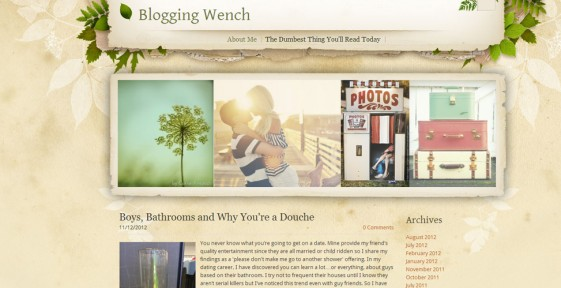 rate my blog the cutest blog on the block blogging wench