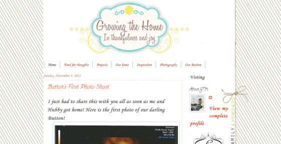 rate my blog the cutest blog on the block growing the home