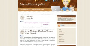 rate my blog the cutest blog on the block mama wears lipstick
