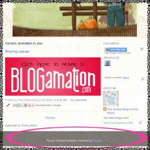 how to remove blogger attribution