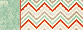 Dainty Chevron  free cute facebook timeline cover sample