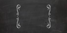 chalkboard charmer free 2 column background