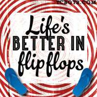 lifes better in flipflops_blog button