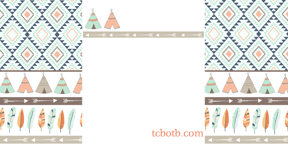 Teepee print the cutest blog on the block teepee print maxwellsz