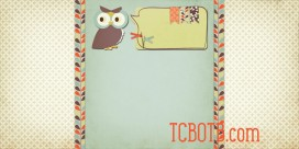 owl warm and cozy 2 column preview