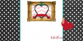 Handmade Heart Work free blog background 3c preview